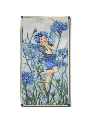 PERIWINKLE FLOWER FAIRIES LRG PANEL